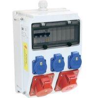 Plastový rozbočovač s jističem Anif7 BV PCE, 9135174, 400 V, 32 A, IP54