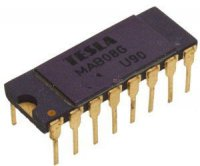 MAB08G 8-kanál analog.multiplex DIP16