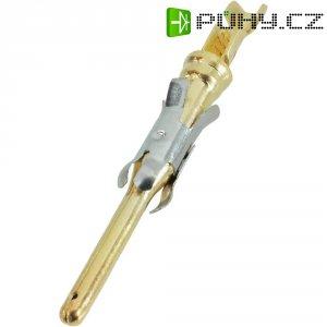 Pinový kontakt pro CPC konektory TE Connectivity 163090-1, zástrčkový, 0,12 - 0,25 mm²