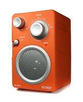 Rádio přenosné DENVER TR-43C oranžová