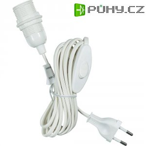 Připojovací kabel Saico, 4 m, bílý