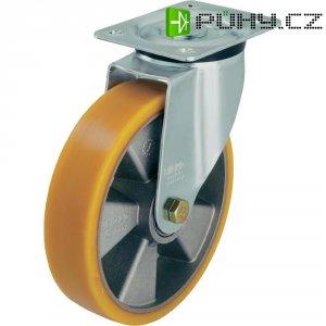 Otočné kolečko s konstrukční deskou, Ø 160 mm, Blickle 320085, L-ALTH 160K