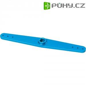 Hliníková páka serva oboustranná Reely, 109 mm, 6 otvorů, modrá