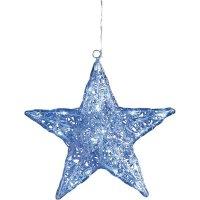 Akrylátová LED hvězdice Konstsmide