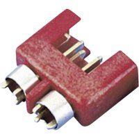 Konektor pro vysoký odběr Modelcraft, zástrčka, červená