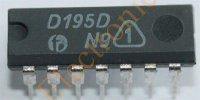 D195D (7495) čtyřbitový posuvný registr