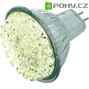 LED žárovka, 8632C4f-1, GU5.3, 1,6 W, 12 V, 52 mm, teplá bílá