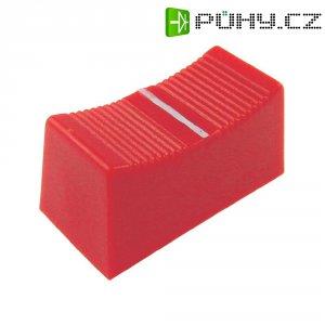 Krytka na přepínač Cliff CP3275, CS, 4 mm, červená