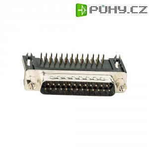 D-SUB kolíková lišta Assmann A-DS 25 A/KG-T2, 25 pin