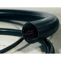 Ochranná hadice na kabely HellermannTyton HG-FR16 166-11402, 11.80 mm, černá, metrové zboží