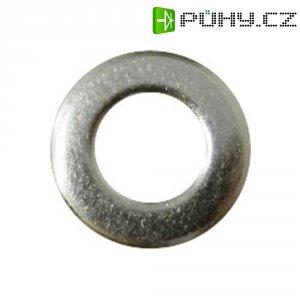 Podložka plochá TOOLCRAFT A2,5 D125-A2 194691, Ø: 2,2 mm/5 mm, ušlechtilá ocel, 100 ks