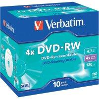 Verbatim DVD-RW 4,7GB 4X 10 ksJC SCRATCH
