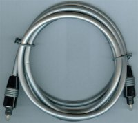 Kabel optický TOSLINK-TOSLINK 6mm/1,5m DOPRODEJ