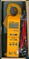 Multimetr KT9050 KILTER klešťový AC/DC, vadný, šrot