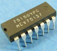 75150 - obvod rozhraní RS232, DIL14 /75150PC/