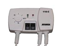 Termostat příložný AVANSA 110C