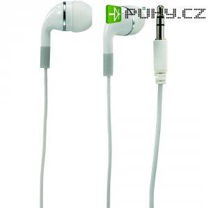 Sluchátka do uší Renkforce E-H115, bílá