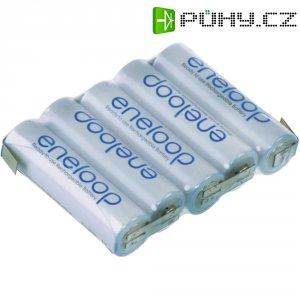 Akupack s pájecími kontakty Sanyo eneloop AA, 6 V, 2000 mAh