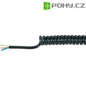 Spirálový kabel Baude H05VVH8-F (37521P), 300/900 mm, 300 V, PVC, černá