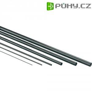 Uhlíkový profil plochý 1000 x 1,5 x 0,12 mm