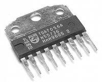 TDA7056 NF zesilovač 3W/3-18V, SIL9