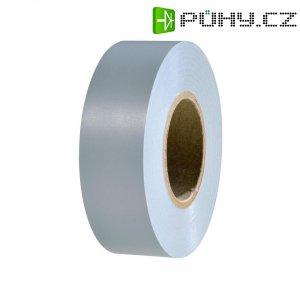 Izolační páska HellermannTyton HelaTapeFlex 15, 710-00130, 19 mm x 25 m, šedá