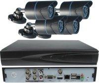 Kamerový systém 1080P JW204K-A20 (DVR+4kamery CMOS Full HD)