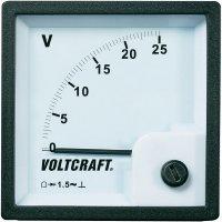 Analogové panelové měřidlo VOLTCRAFT AM-72x72/25V 25 V