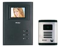 """OPTEX 990261 Barevný bezsluchátkový 4"""" dveřní videotelefon"""