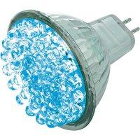 LED žárovka BaseTech 38 GU5.3 1,7 W modrá