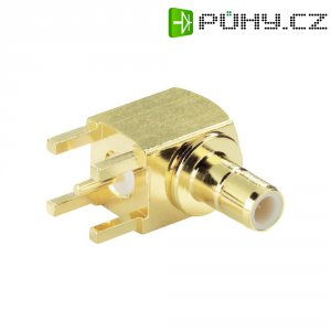 SMB konektor BKL Electronic 0411030, 50 Ω, 500 MΩ, zásuvka vestavná horizontální, 2.6 mm