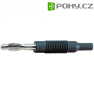 Adaptér 4/2 mm SKS Hirschmann MZS 4 (973599100), PP, rovný, černá
