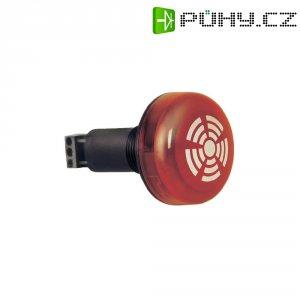 Vestavný bzučák s LED Werma 150.100.68, 230 V/AC, IP65, červená