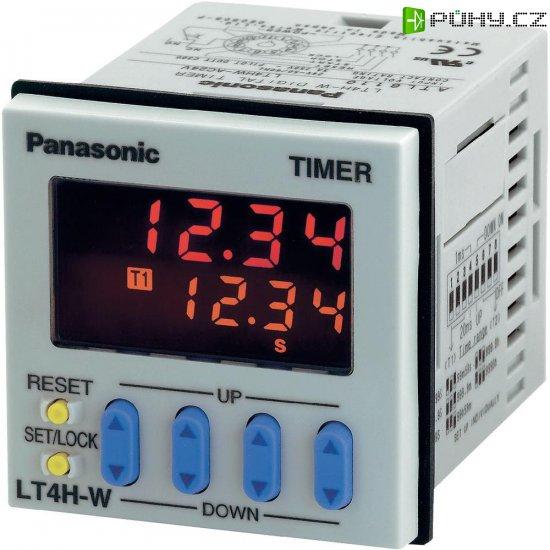 Dvojité relé Panasonic LT4HW240ACSJ, 11pól., 100-240V, šroubový konektor - Kliknutím na obrázek zavřete