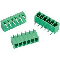 Ukončovací blok Würth Elektronik 691322310006, tištěné zahnuté, zelená