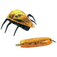 Desk Pets Skitterbot, žlutá (DP-SB-1831-T)