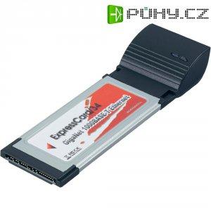 Síťová karta Expresscard Gigabit Ethernet, 1x ExpressCard, 1x RJ45