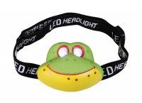 Svítilna čelová LED žába