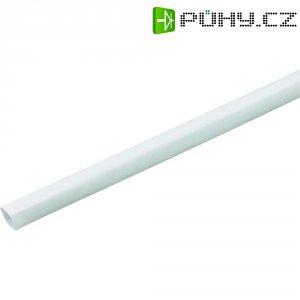 Smršťovací bužírka (1 m) 6/2 mm - bílá