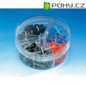 Sada dvojitých dutinek Vogt 737060, 0,75 mm², 2,5mm², 200 ks, více barev