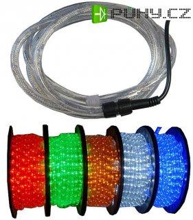 Světelný kabel LED zelený,průměr 13mm, DOPRODEJ