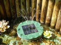 Solární plovoucí ostrůvek s vodotryskem SP01