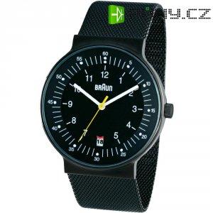 Náramkové hodinky Braun Quarz, černá