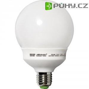 Úsporná žárovka kulatá MegamanCompact Globe E27, 20 W, teplá bílá