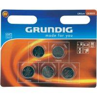 Knoflíková baterie Grundig CR2032, lithiová, 5 ks