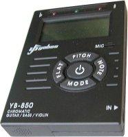 Elektronická kytarová ladička YB-850