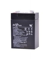 Baterie olověná 6V/ 4.5Ah MaxPower bezúdržbový akumulátor (4,2Ah)