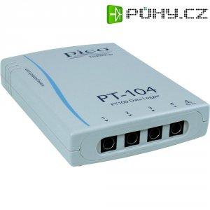 Teplotní/napěťový datalogger pico PT-104, -200 až +800 °C, 4kanálový