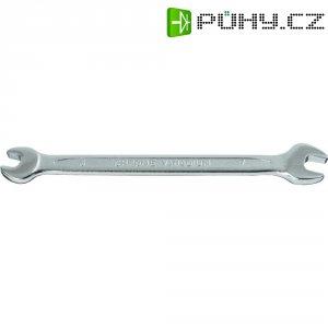Dvojitý plochý klíč TOOLCRAFT 820846, 18 x 19 mm