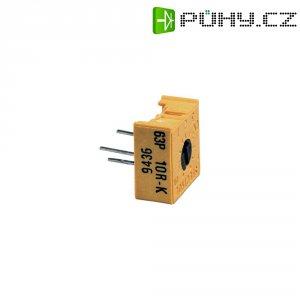 Precizní trimr lineární 0.5 W 100 Ohm 270 ° 300 ° Vishay 63 P 100R 1 ks